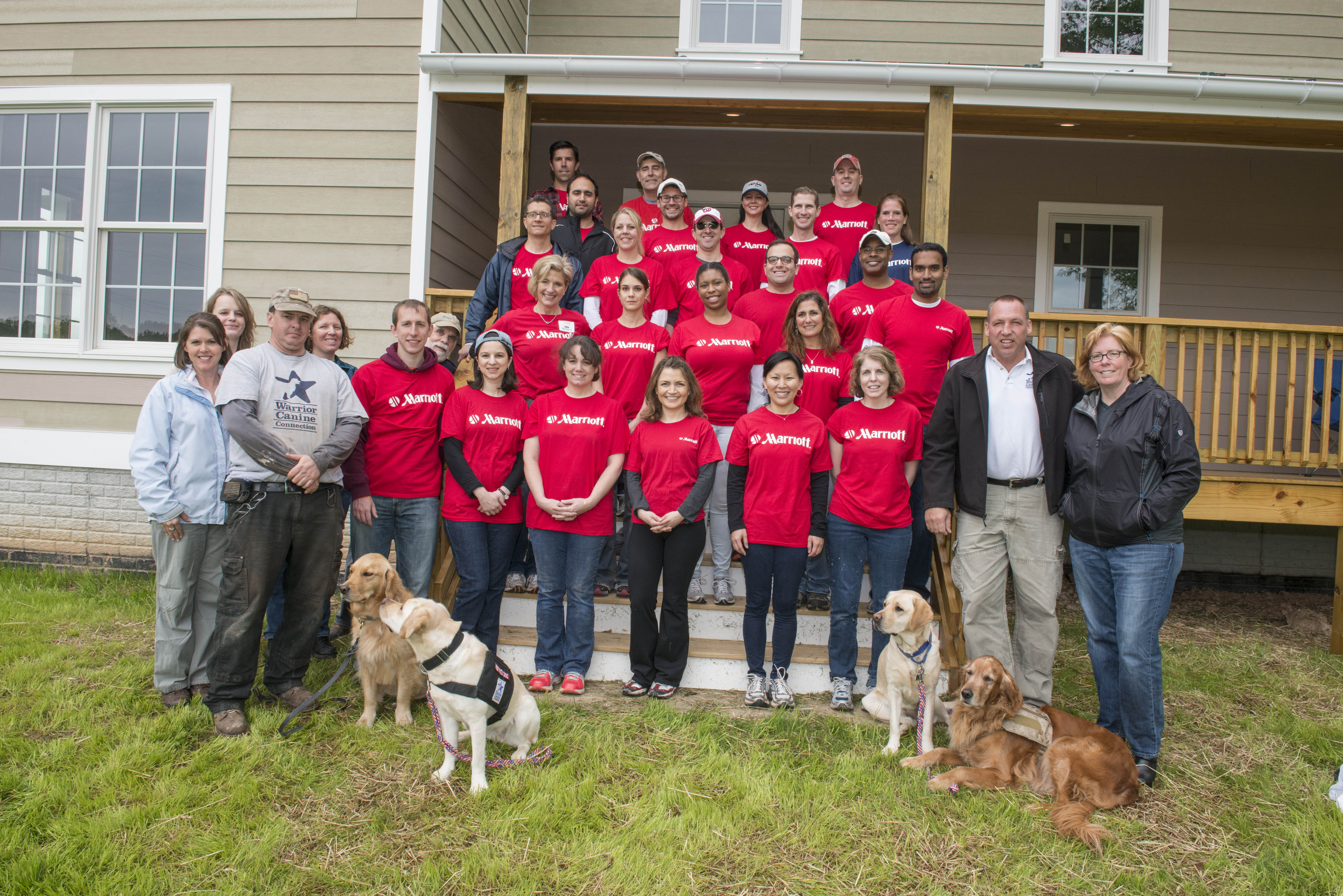 corporate and group volunteer opportunities – warrior canine connection